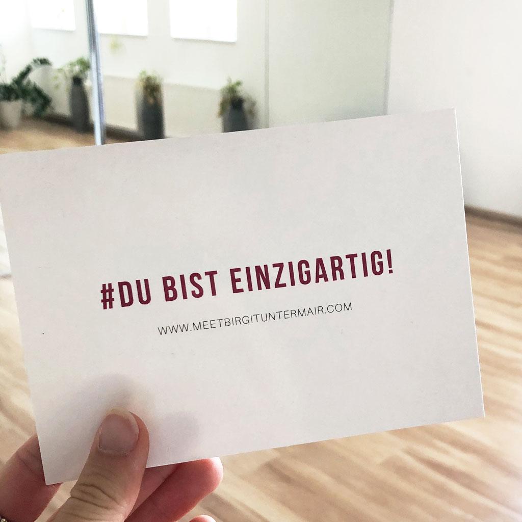 Danke Birgit