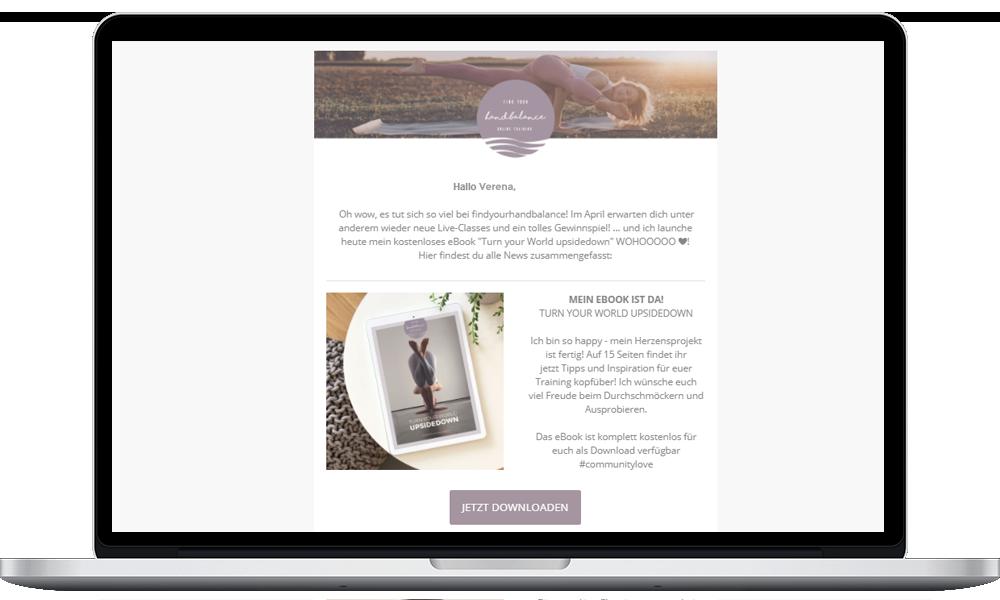 findyourhandbalance Newsletter